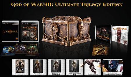 'God of War III: Ultimate Trilogy Edition' ya tiene precio