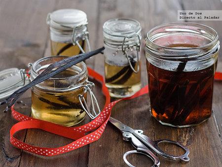Cómo hacer esencia de vainilla casera