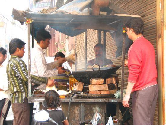 Caminos de la India: Delhi