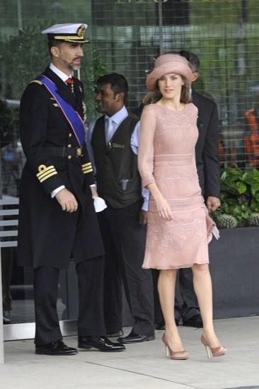 El príncipe Felipe en la boda del príncipe Guillermo y Kate Middleton