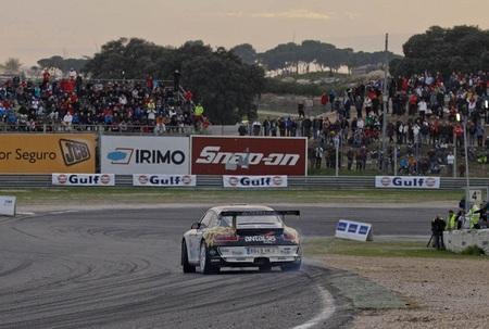 Paseo de Sergio Vallejo en el Rallye RACE Comunidad de Madrid
