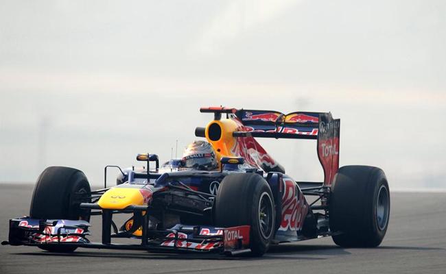 Sebastian Vettel FP India 2012