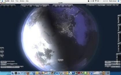 SkyORB: Planetario 3D y base de datos astronómica