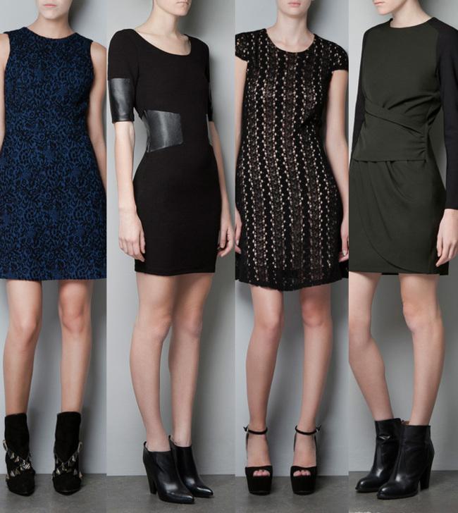 Zara vestidos cortos