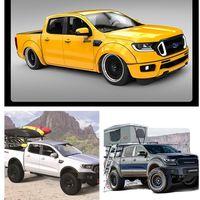 Ford Ranger mostrará su capacidad tuning en el SEMA Show con 6 modelos de impacto