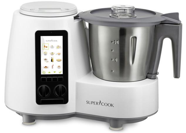 Supercook sc110 el robot de cocina inteligente con for Robot de cocina inteligente