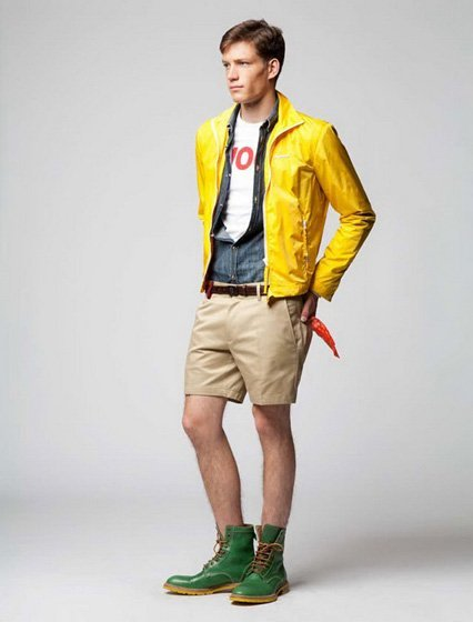 Lookbook Resort 2012 de Dsquared2: la insufrible amistad entre las botas y los shorts