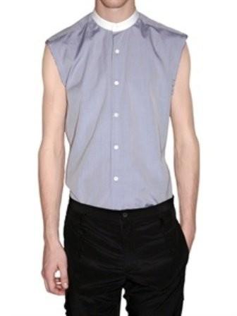 ¿Te atreves con la camisa sin mangas de Lanvin?
