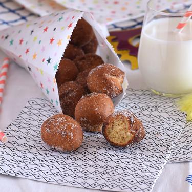 Buñuelos de almendra y canela o mutzenmandeln, receta alemana de carnaval
