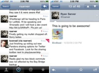 Llega Tweetie 2.1 en el iPhone con soporte para listas y retweet nativo