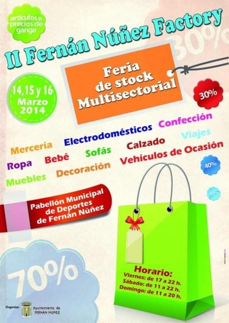 La 2ª edición del Fernán Núñez Factory este fin de semana