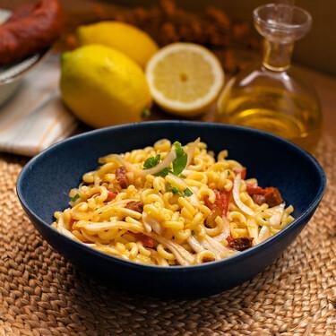 Ensalada de pasta con chorizo: una receta que es todo un oxímoron, pero está buenísima