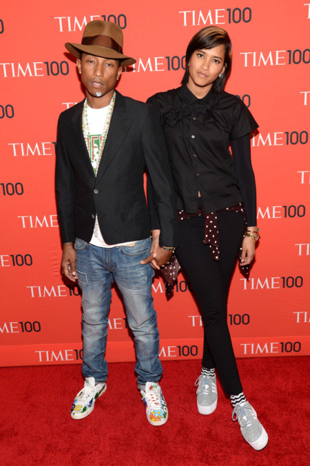 Pharrell Williams Helen Lasichanh Time fiesta look