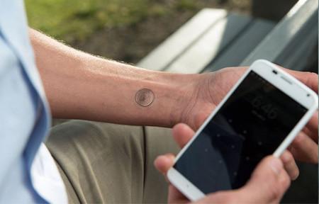 Motorola anuncia su tatuaje NFC con el que podremos desbloquear nuestro móvil