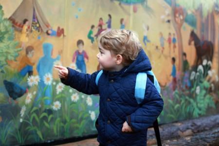 El look del príncipe George en su primer día de guardería