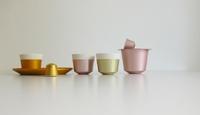 Tazas fabricadas con cápsulas de Nespresso e inspiradas en ellas
