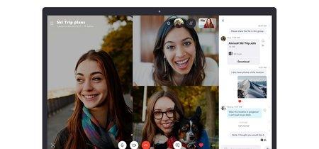 La última versión de Skype Preview mejora el acceso a las conversaciones mientras realizamos una llamada