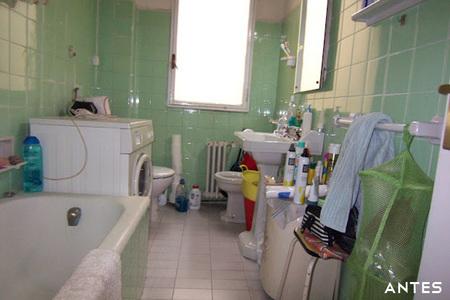 Antes y después: la nueva distribución del baño de Fede