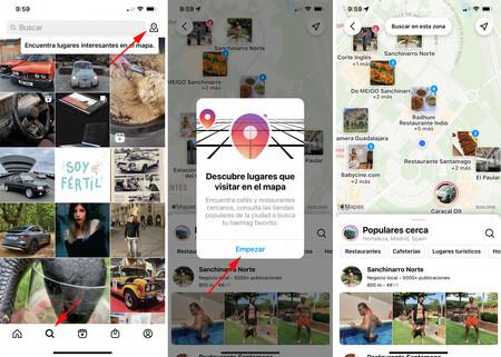 Instagram Lugares Populares