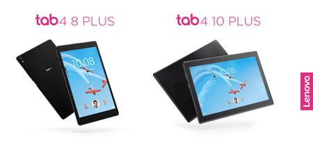 Lenovo Tab 4 8 Plus y Tab 4 10 Plus, sus dos nuevos tablet para usuarios más exigentes