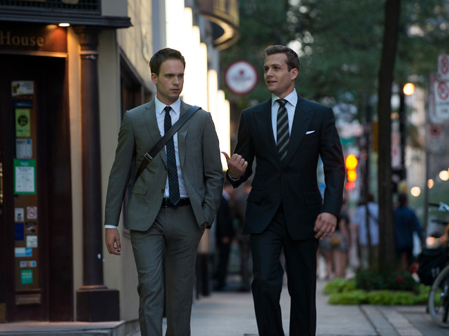 Harvey Specter Mike Ross