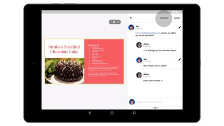 Google Docs, Sheets y Slides: comentarios, menciones y nuevos formatos en su nueva versión