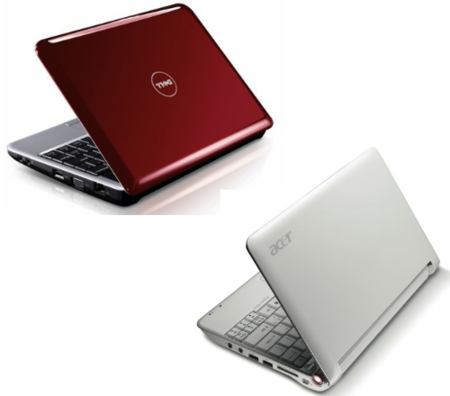 Dell Inspiron 910 frente al Acer Aspire One