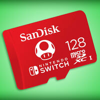 Tarjeta microSD para Nintendo Switch de SanDisk con 128GB de almacenamiento y cerca de 50% de descuento en Amazon México