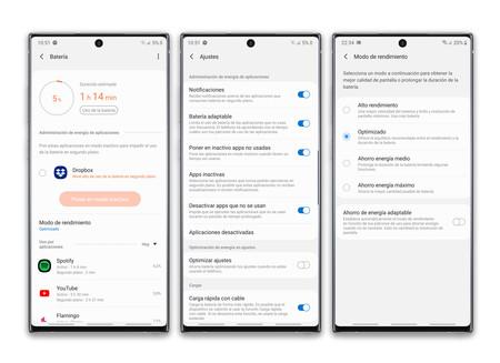 Samsung Galaxy Note 10 Plus Autonomia Opciones