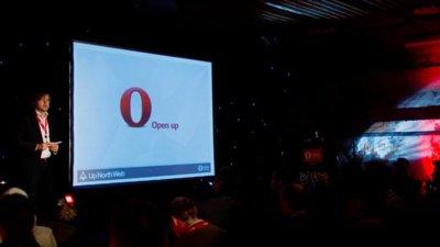 Opera revela sus planes de futuro en la Up North Web