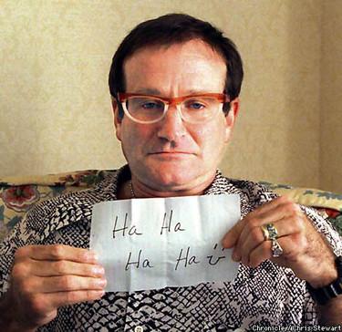 Robin Williams en la UCI