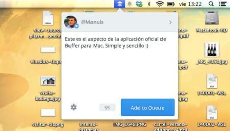 Buffer lanza aplicación oficial para Mac