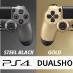 Más modelos para el Dualshock 4: Crystal y Steel Black