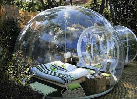 Attrapreves Bubble Tent