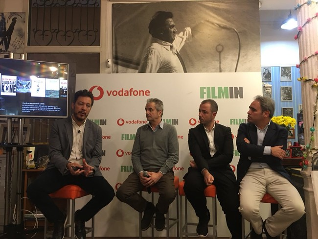 Vodafone and Filmin join forces: integrated content in the deco and special offer for the operator's customers