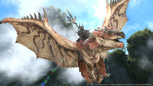 Con este impresionante trailer, Final Fantasy XIV pone fecha a su crossover con Monster Hunter World
