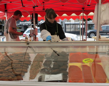 Whale Meat Sold At The Bergen Fish Market 2012