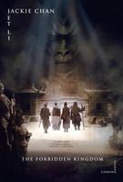 Póster de 'The Forbidden Kingdom' con Jet Li y Jackie Chan