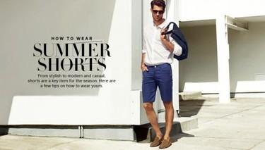 ¿Cómo llevar las bermudas en verano? H&M nos lo enseña