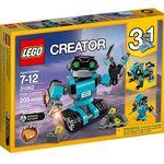 Ahora en Amazon el robot explorador de Lego sólo cuesta 17,98 euros. Para niños a partir de siete años