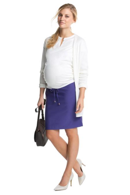 Seis faldas premamá para lucir piernas esta primavera 2016