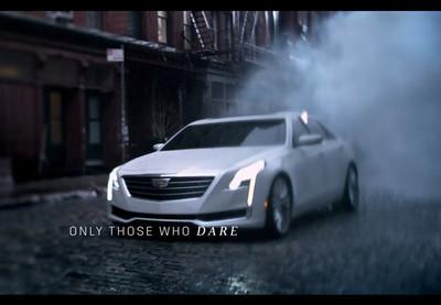 Cadillac muestra el nuevo CT6 durante su anuncio en los Óscar