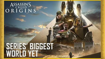 Assassin's Creed Origins: así se abordó la creación del mayor mapa de la saga y su ambicioso contexto histórico