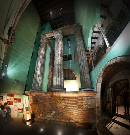 Columnas Templo Augusto Barcelona