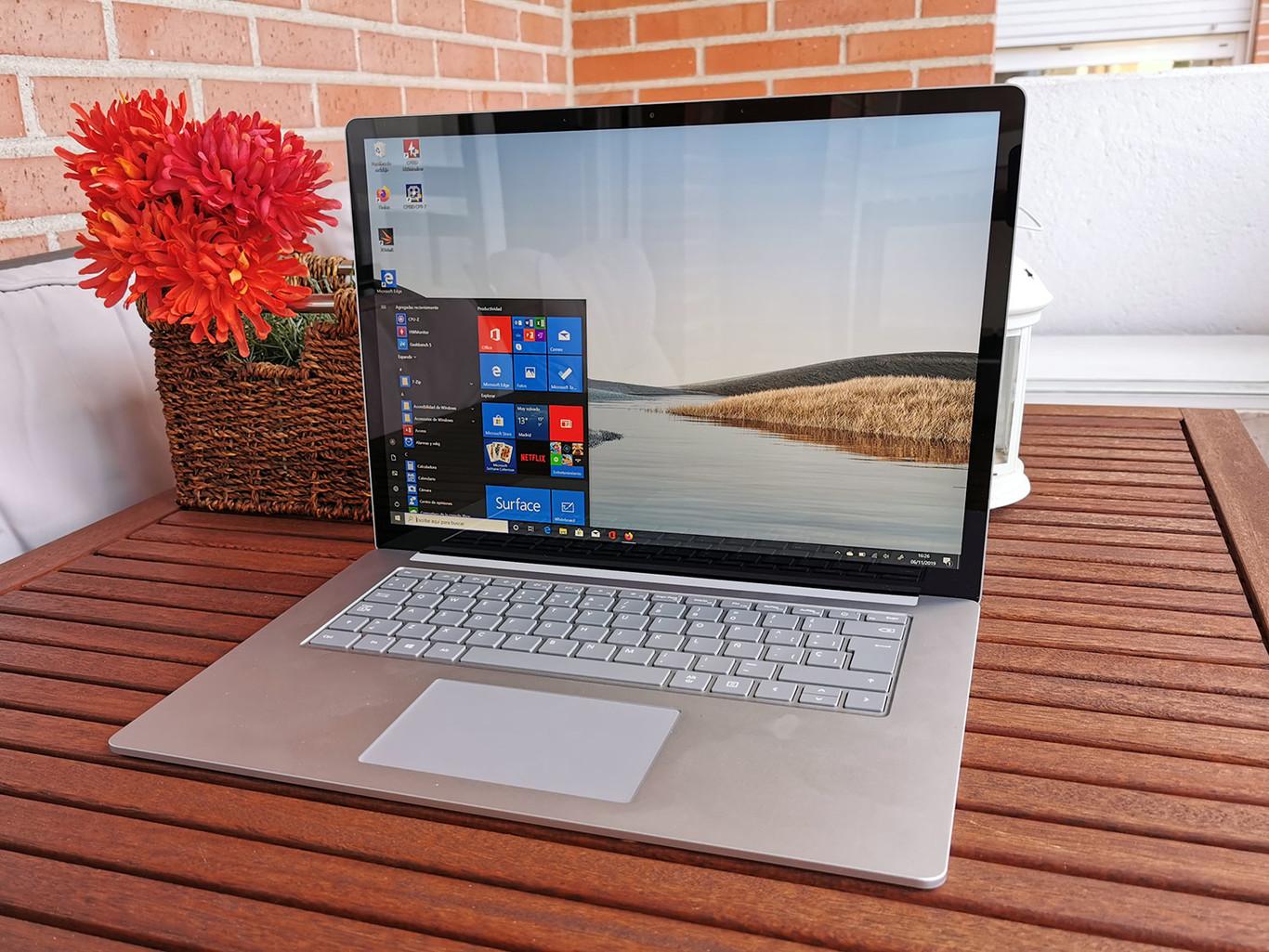 """Microsoft Surface Laptop 3 (15""""), análisis: un portátil """"rebelde"""" que estrena diagonal y sobre todo un interesante chip de AMD"""