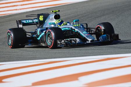 Rossi Mercedes Valencia F1 2020