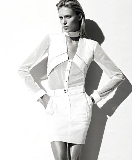vestido blanco la reodute
