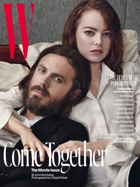 """Impresionada con las 6 portadas de W Magazine de su """"The Movie Issue"""""""
