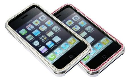 Marcos Swarovski para el iPhone y el iPod