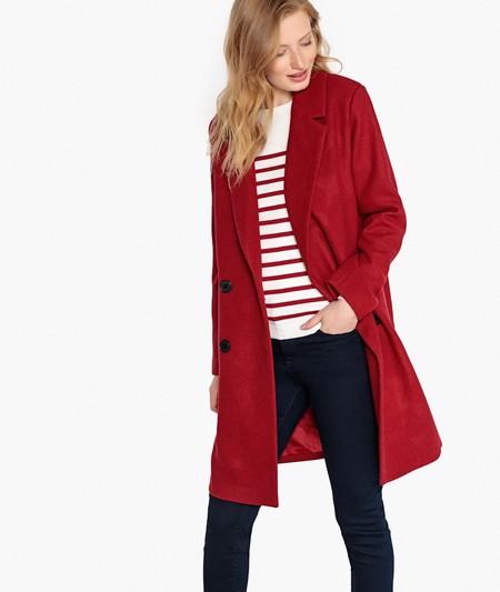 Abrigo Rojo Masculino